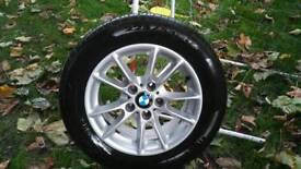 """BMW E39 16"""" alloy wheels with good tyres"""