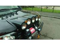 Land rover discovery td5 bonnet pod