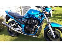 SUZUKI GSF 650 BANDIT AMAZING CONDITION LOW MILES LOTS OF MOT