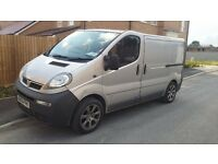 vauxhall vivaro for sale or swap for vw caddy