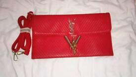 Red ysl bag