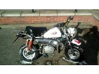 Monkey bike need gone as downt have the room