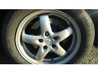 """Set of 16"""" Alloys Wheel with Tyre For Sale"""