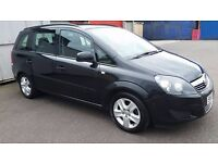 2013 vauxhall zafira 1.6i exclusiv 115 5 door 7 seater