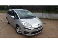 automatic citroen picasso c4 . 1.6 HDI DIESEL. perfect family car . long mot . very low mileage.