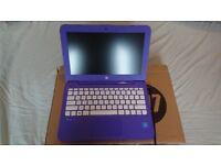 HP Stream 11-y002na 11.6-inch Laptop (Violet Purple)