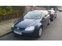LOW MILEAGE, VOLKSWAGEN GOLF 1.6 FSI PETROL, VERY RELIABLE FAMILY CAR