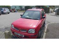 Nissan, MICRA, Hatchback, 2000, Manual, 998 (cc), 3 doors