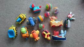 Various Baby and Toddler Toys inc Lamaze, Fisher Price - See Photos
