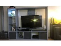 Grey IKEA Lapplan Tv unit/stand