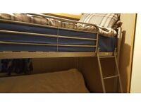 FUTON METAL BUNK BED FRAME