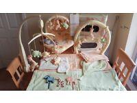 Mamas & Papas Sunshine Safari Nursery Bundle Soft Furnishings & Accessories Animal Jungle Zoo Theme