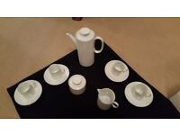 Thomas Germany - Silver Band - Coffee Set with Espresso cups