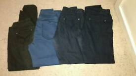 Ladies jeggings size 14 four pairs