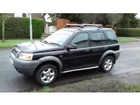 2000 landrover freelander 1 2.0 XDI S-Wagon runs or off road project