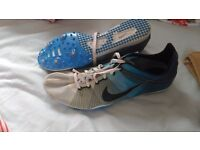 Nike zoom victory running spikes size 10 athletics shoes