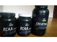 2x bcaa and 1kg creatine