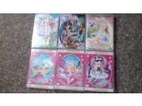17 X BARBIE DVDS
