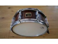 Yamaha Stage Custom snare drum - hardly used - 14 inch by 6 inch - price reduced