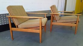 Vintage DANISH Armchair Design Great Condition Midcentury Loft Modern