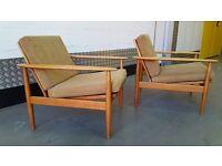 Vintage DANISH Armchair Design Great Condition Midcentury Loft Modern