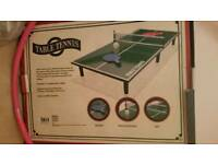 Miniature Table Tennis Set