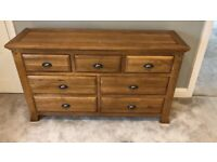 Chest of Drawers - Solid Oak