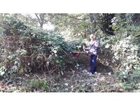 All garden work undertaken. fencing, total clearance work, tree work, lawn care specialist, insured.