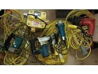 110V Power Tools, Leads & 3KvA Transformer.