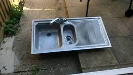 Franke one and half bowl sink