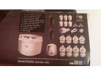 Brand New Tommee Tippee Closer To Nature Essentials Starter Pack