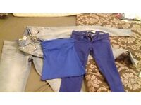 Women's jeans bundle size 8-10