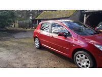 Peugeot 307 ---1.6hdi---MILLAGE- 108000