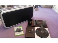 DJ Hero 2 with turntables and carry case