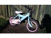 Silverfox sweetie girls bike