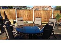 7 Piece Garden furniture Set
