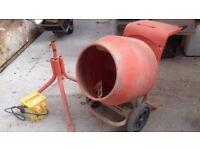 (Cement Mixer) Belle Minimix 150 + Stand + Transformer