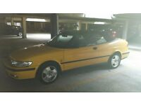 SAAB 93 CONVERTABLE (TURB0) v FAST AND RELIABLE - FULL SERVICE HISTORY 84000MILES
