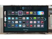 """22"""" Samsung LED smart WiFi built in full HD freeview built in"""