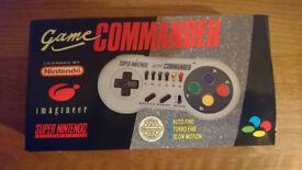 SNES Super Nintendo Commander Controller - Unused in Excellent Condition - UK Pal Version