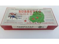 Wanted Subbuteo. 50's, 60's any quantity . Football , speedway, motor racing, journey into space