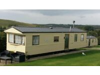 Eight berth caravan for sale, Combe Haven holiday park, East sussex, site fees paid for 2018.