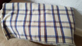 Welsh Wool Blanket - Thick and so comfortable