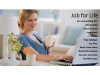 F/T or P/T. Home based. Flexible hours. Great income. Immediate start.
