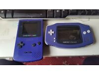 Gameboy color +game boy advance
