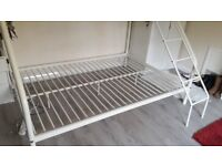 Metal Triple bunk bed, frame only
