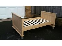 Mamas and Papas cot bed from smoke free home