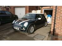 Mini Cooper, 80k, British racing green. 1.6l. Great car, lovely condition. 6month MOT left.