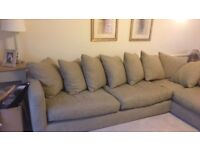 Marks and Spencer Large 10ft x 10ft corner sofa, in great condition