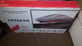 Hitachi 43inch freeview play smart led tv